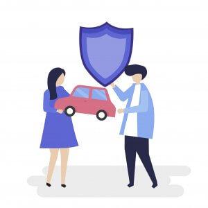 ubezpieczenie pojazdu ikona